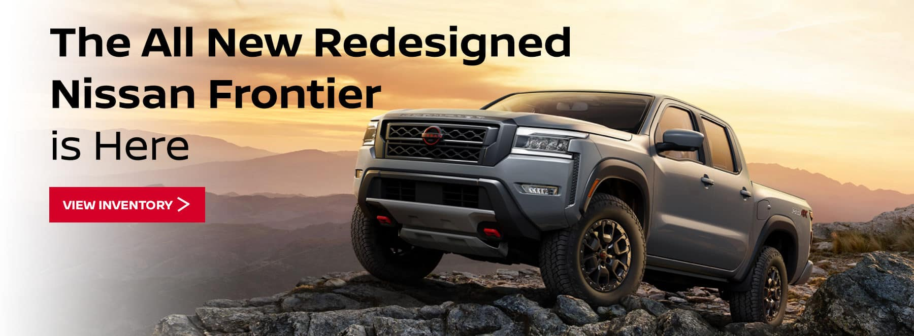 The All New Redesigned Nissan Frontier is Here