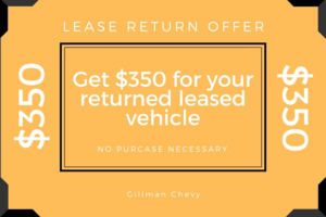 Gillman Chevrolet Lease Offer