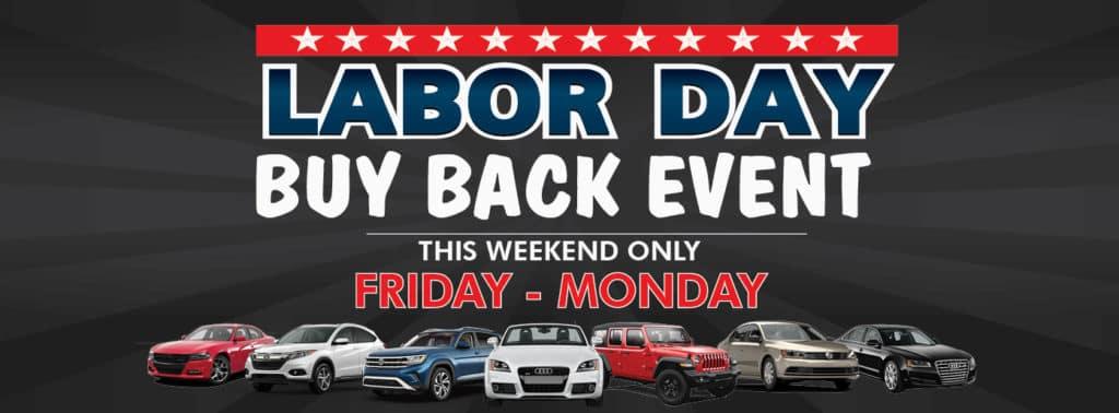 Labor Day Buy Back Event at Gillman Chevrolet Harlingen