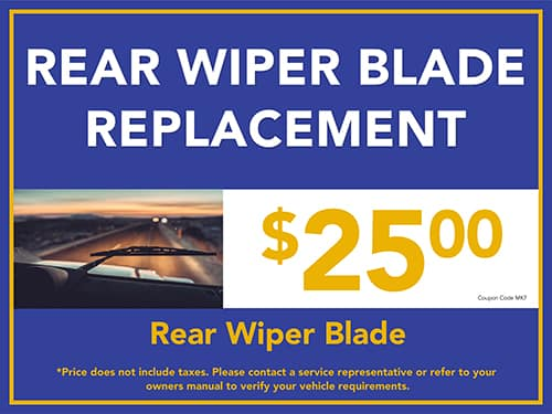 Rear Wiper Blade Replacement