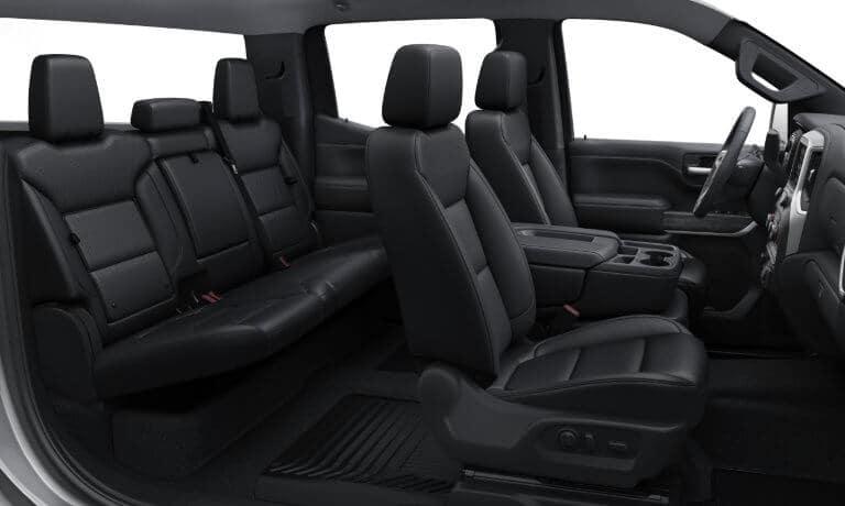 2020 Chevy Silverado 1500 interior seating view