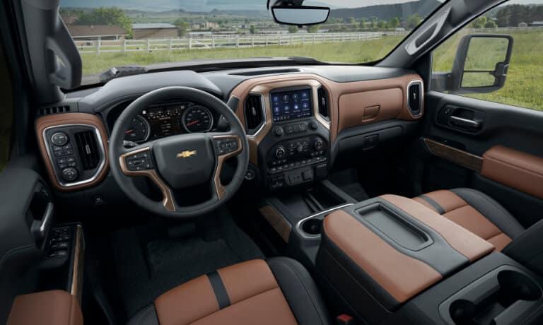 2020 Chevy Silverado 2500 HD interior view