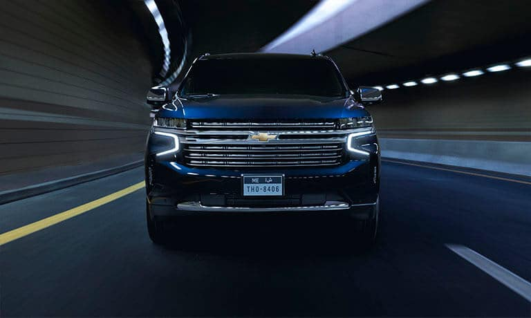 2021 Chevy Tahoe front exterior view