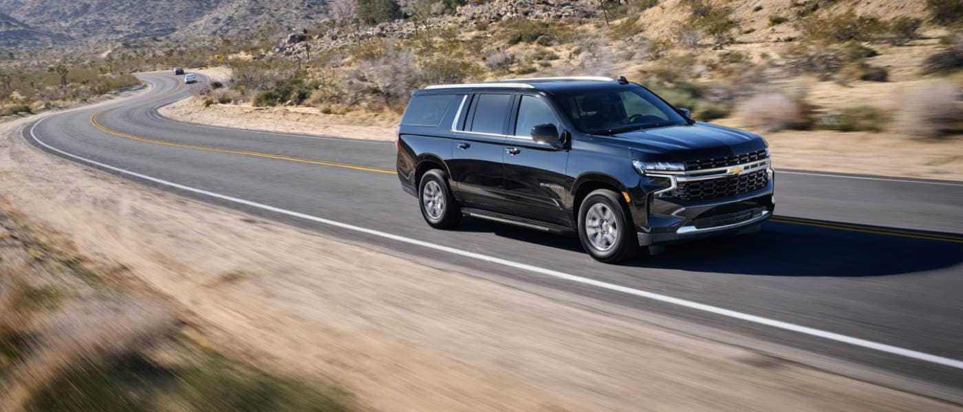 2020 Chevy Suburban exterior side view