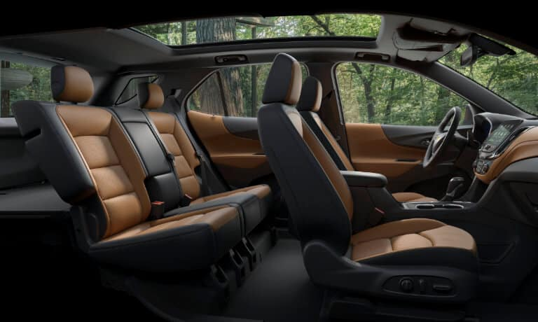 2021 Chevy Equinox interior seating