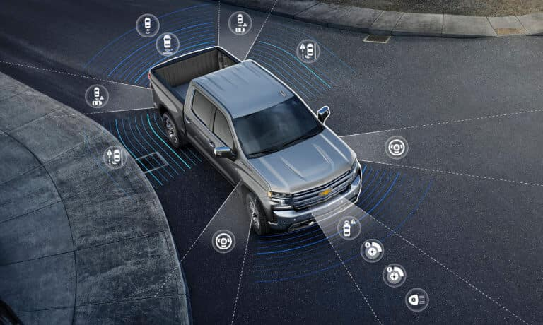 2021 Chevy Silverado 1500 safety sensor videos