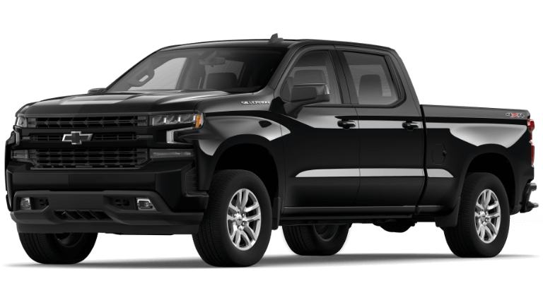 2021 Chevy Silverado 1500 Black