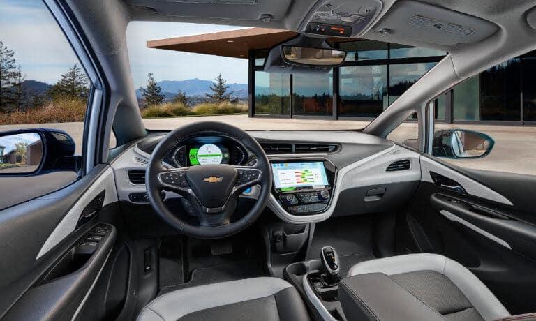 2021 Chevy Bolt EV Interior dashbaord view