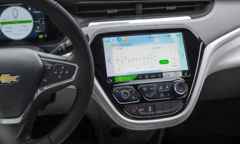 2021 Chevy Bolt EV infotainment view