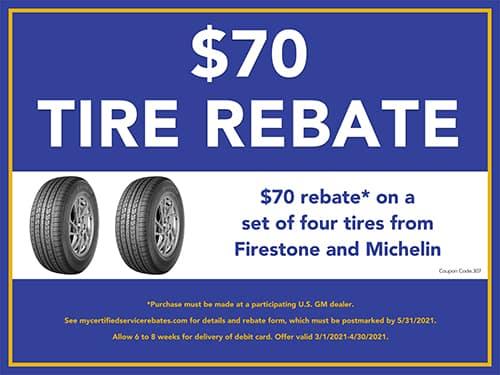 $70 Tire Rebate