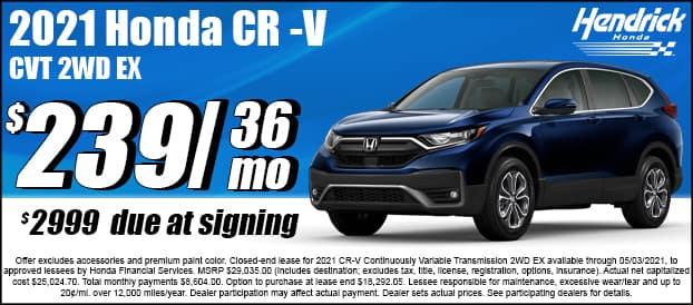 2021 CR-V CVT 2WD EX