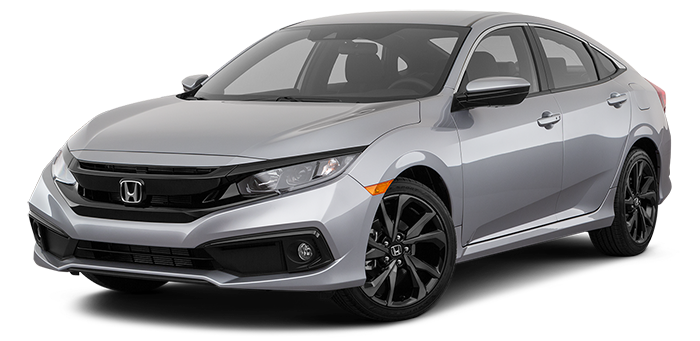 New 2021 Civic Hendrick Honda Charlotte