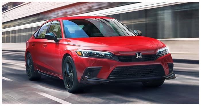 New 2022 Civic Hendrick Honda Charlotte
