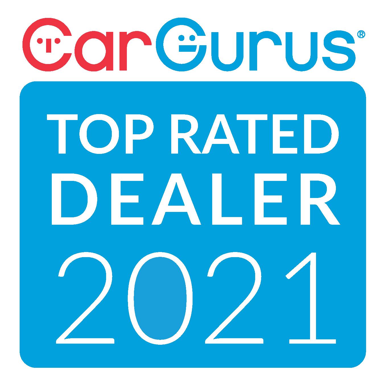 CarGurus Top Rated Dealer 2021 Award