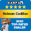 Holman Cadillac Carfax 2020 Top Rated Dealer Award