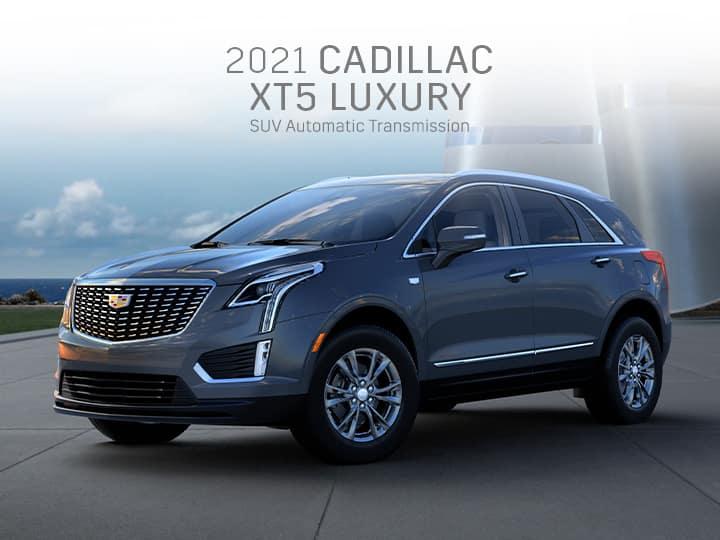 2021 New Cadillac XT5 Luxury