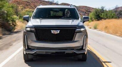 Exterior shot of a Cadillac SUV