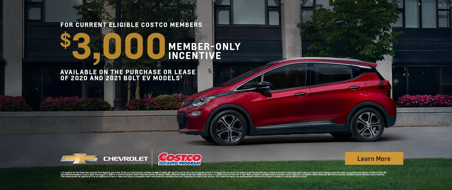 $1000 Costco Member Savings Incentive