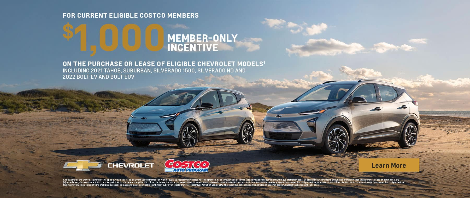 $1000 Costco Member's Only Incentive