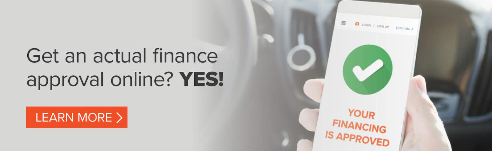 Get an actual finance approval online