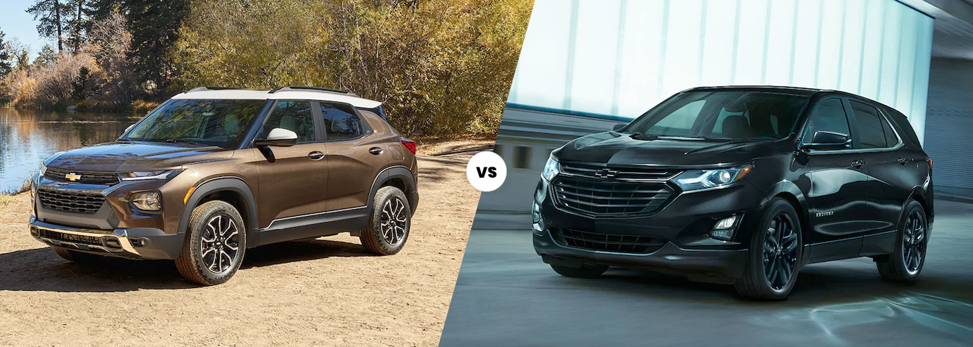 2021 chevy trailblazer vs 2021 chevy equinox