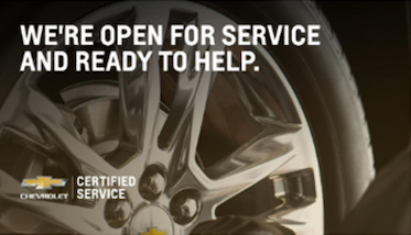 We're open for service and ready to help