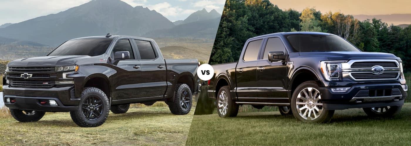 2021 chevy silverado 1500 vs 2021 ford f 150