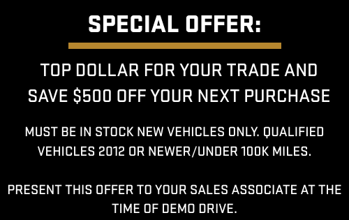 $500 Off Next Purchase