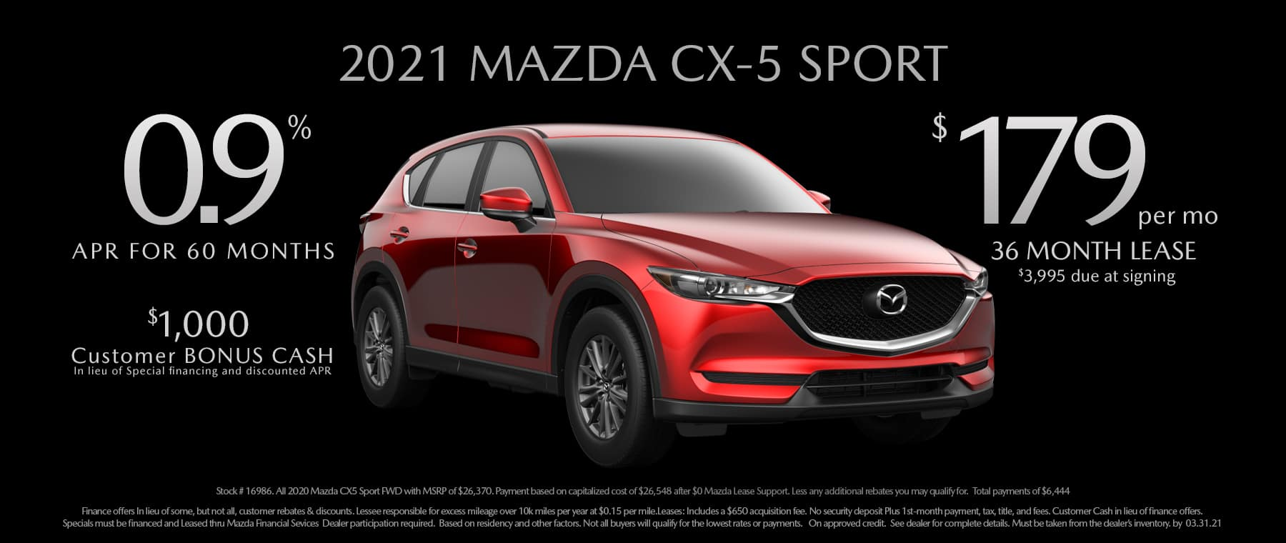 0321 – _CX-5 2021 Lease Finance Offer