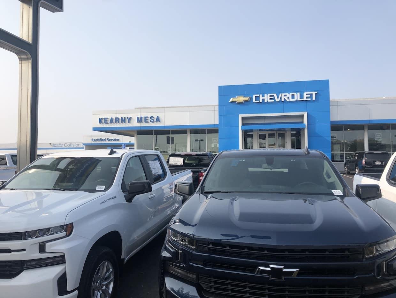Kearny Mesa Chevrolet Dealership Exterior