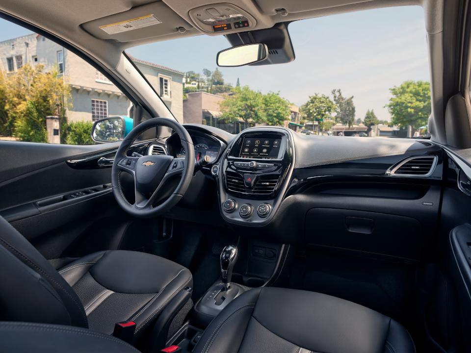 2021 Chevy Spark interior