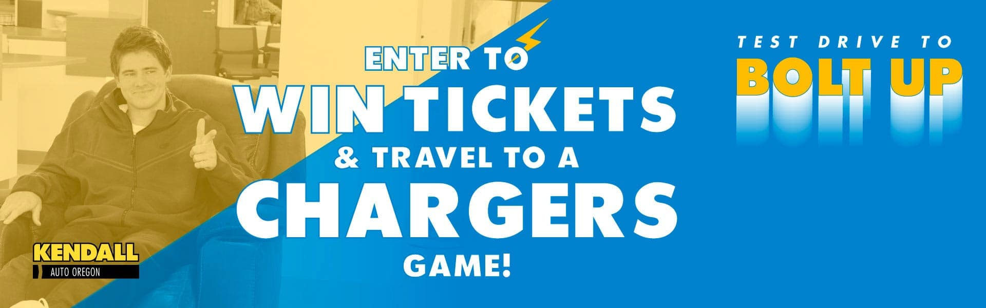 Charger Ticket Giveaway