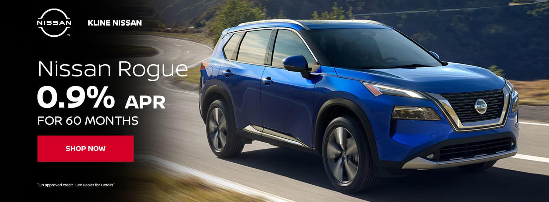 Rogue 0.9% APR for 60 months