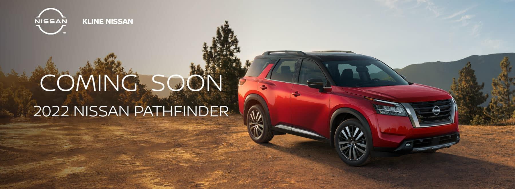 Coming Soon, 2022 Nissan Pathfinder