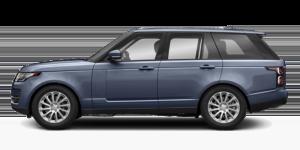 blue-gray Range-Rover
