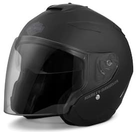 Harley Maywood Interchangeable Sun Shield 3/4 Helmet # 98303-17VX