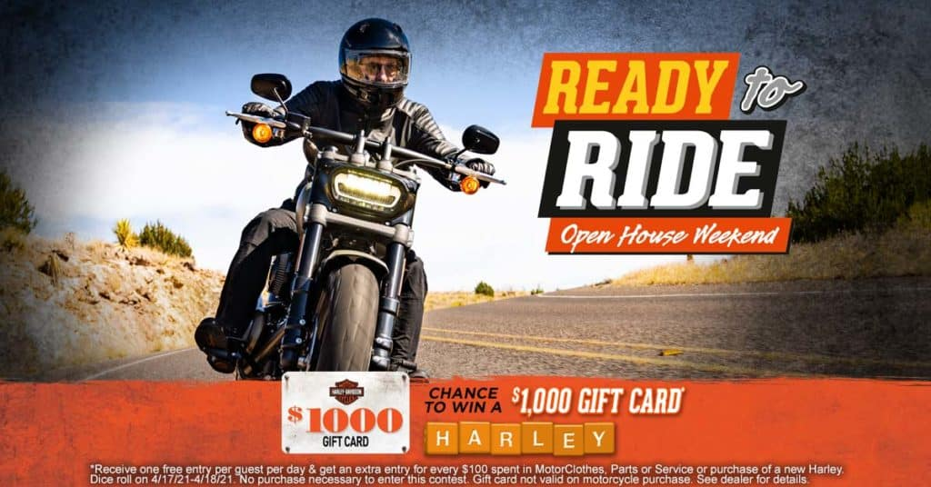 Ready to Ride Open House