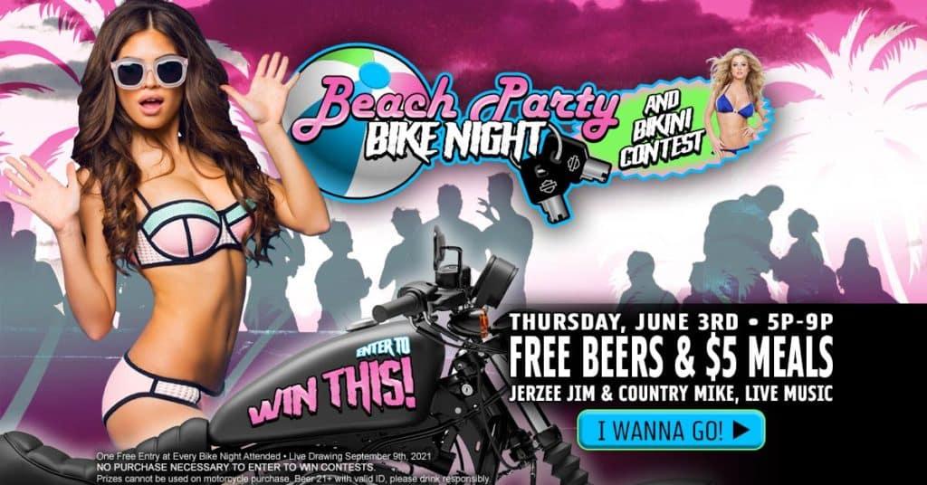 Beach Party Bike Night