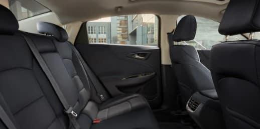2021 Chevy Malibu Interior Backseat