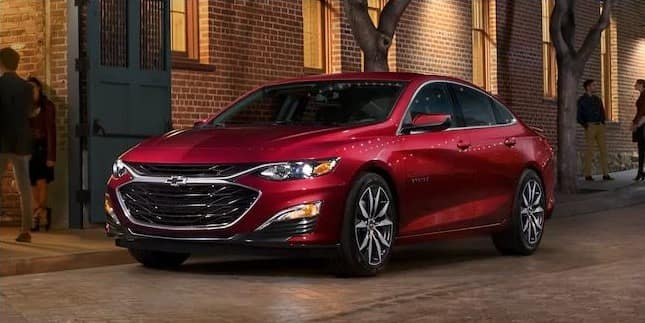 2021 Red Chevy Malibu in St. Louis