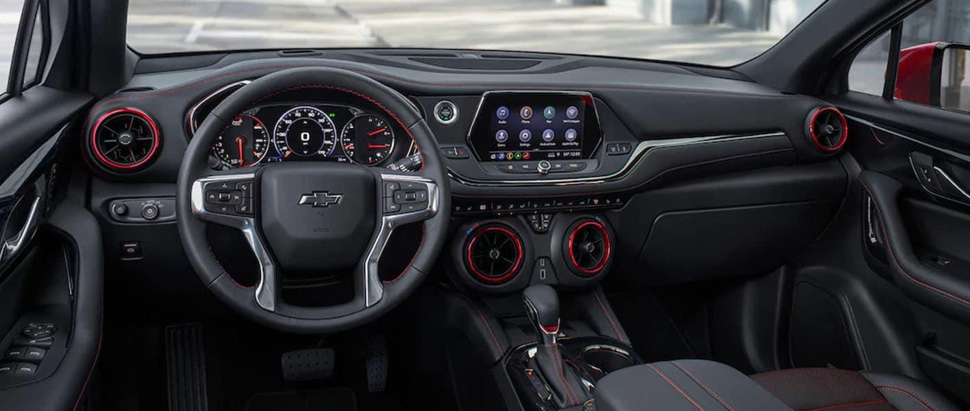 2021 Chevy Blazer in St. Louis Interior