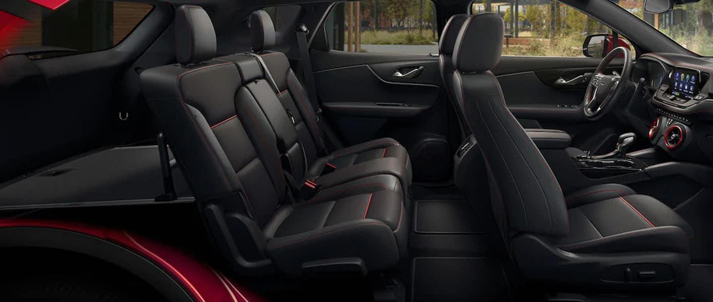 2021 Chevy Blazer in St. Louis Interior Storage