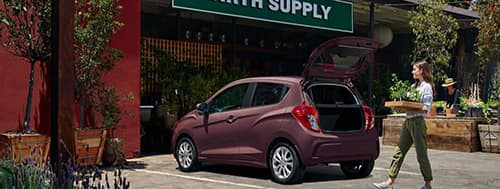 2021 Chevy Spark Trunk Space