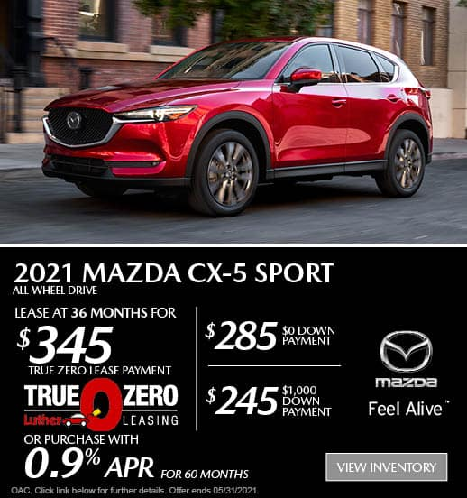 CX-5 Sport Lease Special