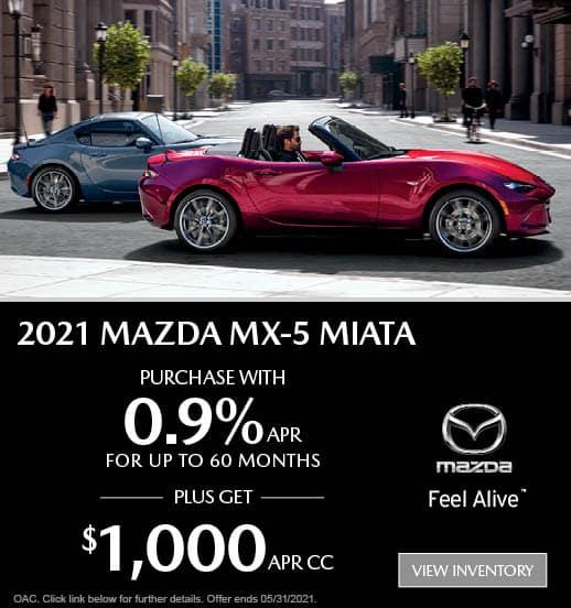 Mazda MX-5 Miata Finance Special