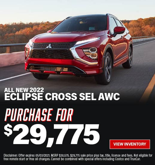 Eclipse Cross Special Offer