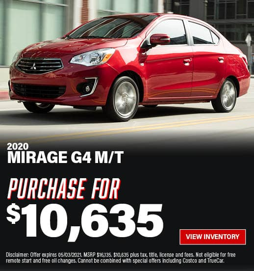 Mirage G4 Special Offer