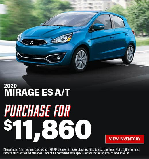 Mirage Special Offer