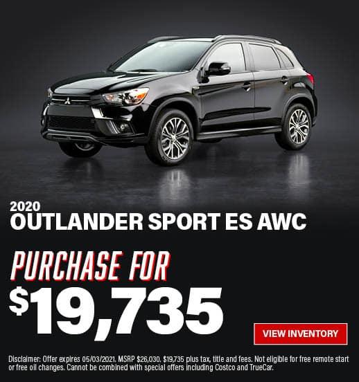Outlander Sport Special Offer