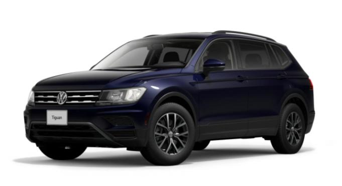 New 2021 Volkswagen Tiguan S AWD
